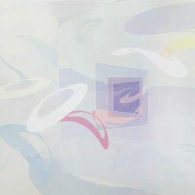 Cloud Dance, 1986 Oil On Canvas, 5' X 6' (152.5 X 183 Cm)