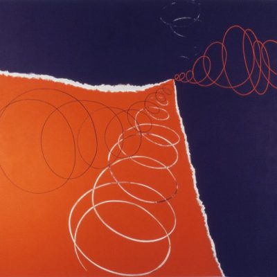 Landscape Of Life Number 3, 1994 Acrylic On Canvas, 5' X 6' (152.5 X 183 Cm)