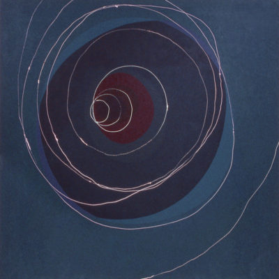 Time Tunnel, 2003 Acrylic On Canvas, 60″ X 60″ (152.5 X 152.5 Cm)