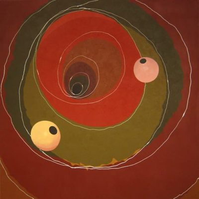 Oriental Origin, 2004 Acrylic On Canvas, 60″ X 60″  (152.5 X 152.5 Cm)