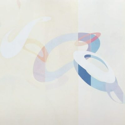 Departure For Eternity, 1988 Oill On Canvas 5' X 6' (152.5 X 183 Cm)