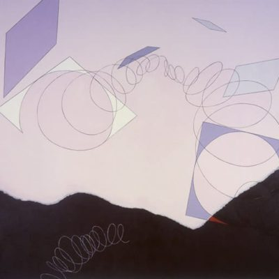 Non-Titled, 1994 Acrylic On Canvas, 5' X 6' (152.5 X 183 Cm)