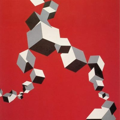 Non-Titled, 1972 Oil On Canvas 7' X 8' (213 X 244 Cm)