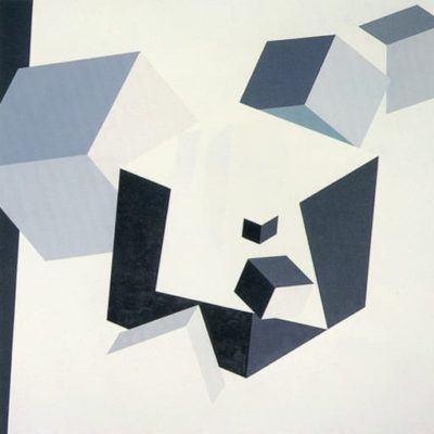 Non-Titled, 1976 Oil On Canvas 7' X 7' (213 X 213 Cm)