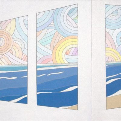 View From The Window, 2013 Acrylic On Canvas, 24″ X 30″ (61 X 76 Cm)