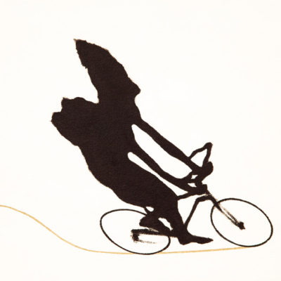 A Man On The Bicycle III - Yuichiro Shibata | 柴田雄一郎